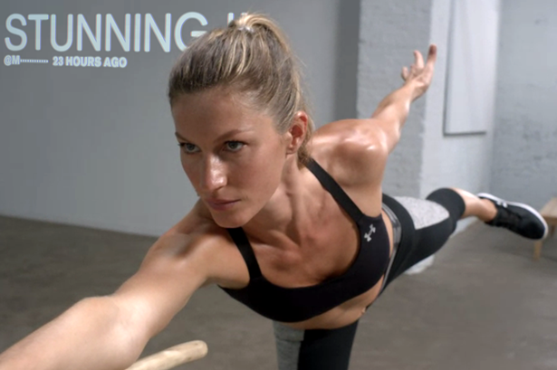 Gisele Bündchen Kicks Ass for Under Armour