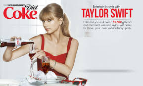 Diret coke and taylor swift