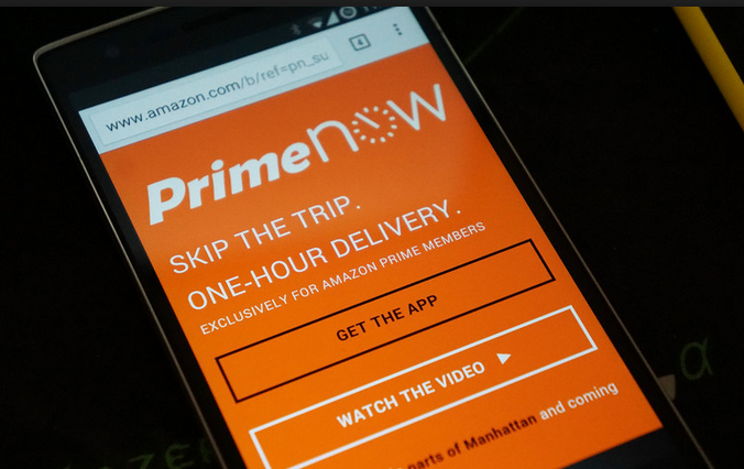 Amazon Flexes One-Hour Delivery Service