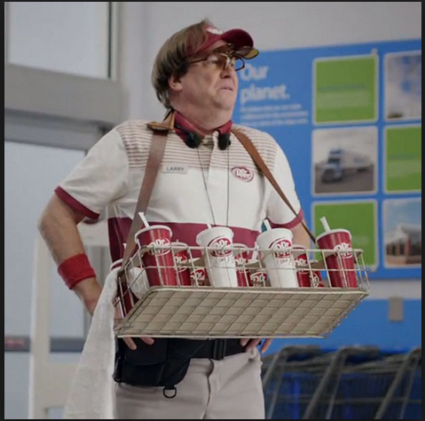 Dr. Pepper and Walmart