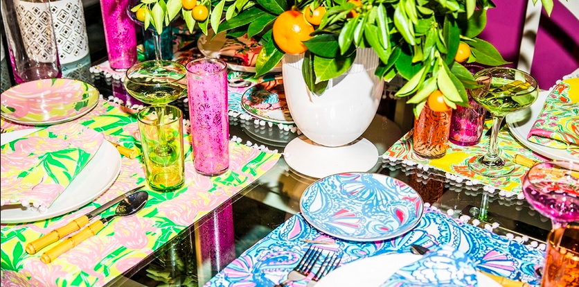 Lilly Pulitzer Throws Huge Pool Party for Target