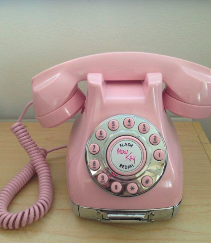 Mary Kay Cosmetics pink phone
